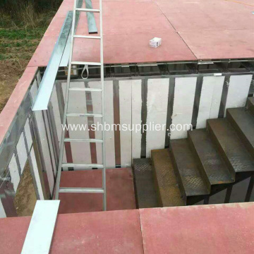 High Strength Fire Proof MgO Wall Panels